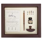 Rubinato -  Nibholder Ink Journal Blotter & Nibs Set 8pce