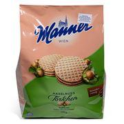 Manner - Hazelnut Tartlets 400g