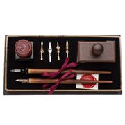 Rubinato - Bordeaux Nibholder Writing Set 10pce