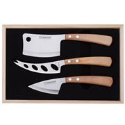 Legnoart - Latte Vivo Light Wood Cheese Set 3pce