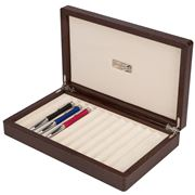 Renzo - Thesius Brown Box for Twelve Pens