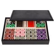 Renzo - Black Thesius Leather Imperius Poker Box