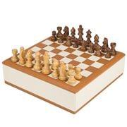 Renzo - Ivory Cognac Imperius Chessboard