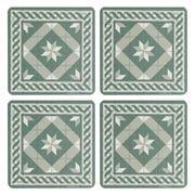 Telki - Bizantino Trellis Coaster Set 4pce