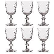 Baci Milano - Lounge Wine Glass Set Clear 6pce