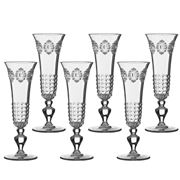 Baci Milano - Baroque & Rock Flute Set Clear 6pce