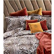 Roberto Cavalli - Bravo Duvet Cover Set Brown King 4pce