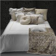 Roberto Cavalli - New Gold Bed Sheet Set White Queen 4pce