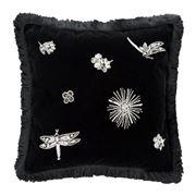 Roberto Cavalli - Diamonds Cushion Black 40x40cm