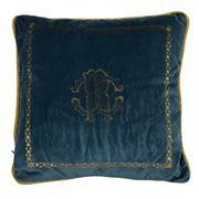 Roberto Cavalli - Venezia Cushion Teal 40x40cm