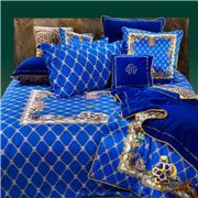 Roberto Cavalli - Spider Queen Duvet Cover Set Blue 4pce