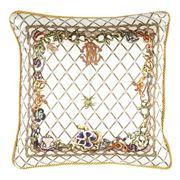 Roberto Cavalli - Spider Silk Cushion White 40x40cm
