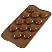 Silikomart - 3D My Love Silicone Mould Brown