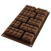 Silikomart - Choco Block Silicone Mould Brown