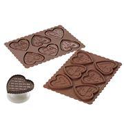 Silikomart - Hearts Cookie Choc Kit