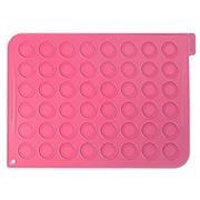 Silikomart - Macarons Silicone Mat Pink