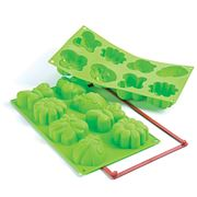 Silikomart - Springlife Silicone Mould 8 Cup Green