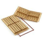 Silikomart - Waffel Classic Silicone Mould Gold