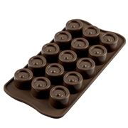 Silikomart - Vertigo Silicone Mould Brown