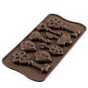 Silikomart - Choco Keys Silicone Mould