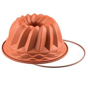 Silikomart - Gugelhupf Silicone Mould Terracotta