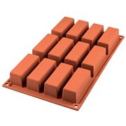 Silikomart - Mini Cake Silicone Mould Terracotta