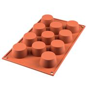 Silikomart - Mini Muffin Silicone Mould 11 Cup Terracotta
