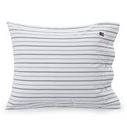 Lexington - Pin Point Oxford Pillowcase White/Blue 50x75cm