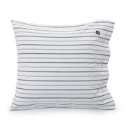 Lexington - Pin Point Oxford Pillowcase White/Blue 65x65cm