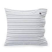 Lexington - Pin Point Oxford Pillowcase White & Blue 65x65cm
