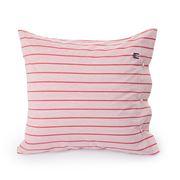 Lexington - Poplin Pillowcase Red Stripe 65x65cm