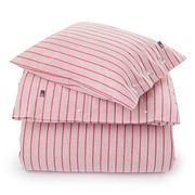 Lexington - Red Striped Poplin Duvet 210x210cm