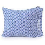 Lexington - Printed Cotton Sateen Pillowcase Blue 65x65cm