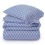 Lexington - Blue & White Printed Sateen Duvet 210x210cm