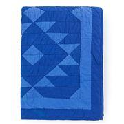 Lexington - Washed Quilt Bedspread Blue  160x240cm