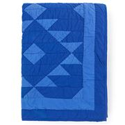 Lexington - Washed Quilt Bedspread Blue 260x240cm