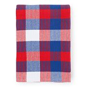 Lexington - Picnic Blanket Blue/Red Checks 140x200cm