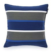 Lexington - Striped Sham Blue & White 50x50cm
