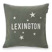 Lexington - Stars Sham Cushion Green & White 50x50cm