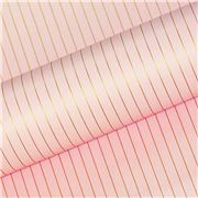 Vandoros - Pink / Gold Pinstripe Wrapping Paper 76cmx250cm