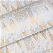 Vandoros - Astra Gold/Silver Wrapping Paper 76cm x 2.5M