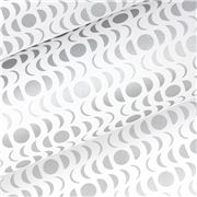 Vandoros - Lunar White/Silver Wrapping Paper 76cm x 2.5M