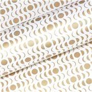 Vandoros - Lunar Quartz/Gold Wrapping Paper 76cm x 2.5M