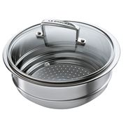 Le Creuset - 3Ply Stainless Steel Multi Steamer w/ Glass Lid