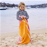Wonga Road -  Velour Beach Towel Brooke 75x150cm