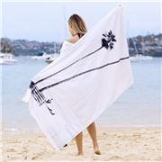 Wonga Road - Hammam Beach Towel San Clementine 86x160cm