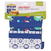 Sachi - Lunch Pockets Outer Space Set 2pce