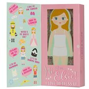 Floss and Rock - Wooden Magnetic Dress Up Elsie