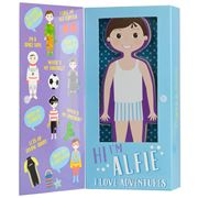 Floss and Rock - Wooden Magnetic Dress Up Alfie