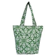 Sachi - Insulated Folding Market Tote Bag Bohemian Green